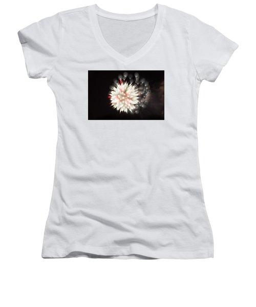 Flowers In The Sky Women's V-Neck