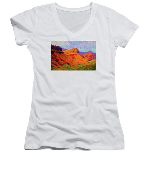 Flowing Rock Women's V-Neck T-Shirt