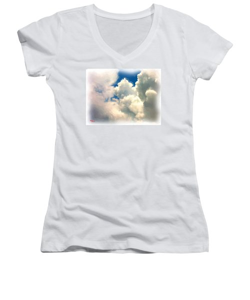Flyin High Women's V-Neck T-Shirt