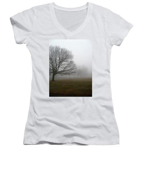 Fog Women's V-Neck T-Shirt
