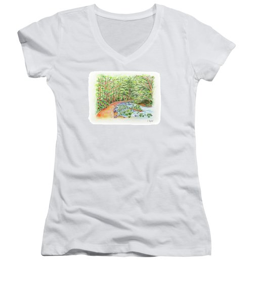 Footbridge Women's V-Neck