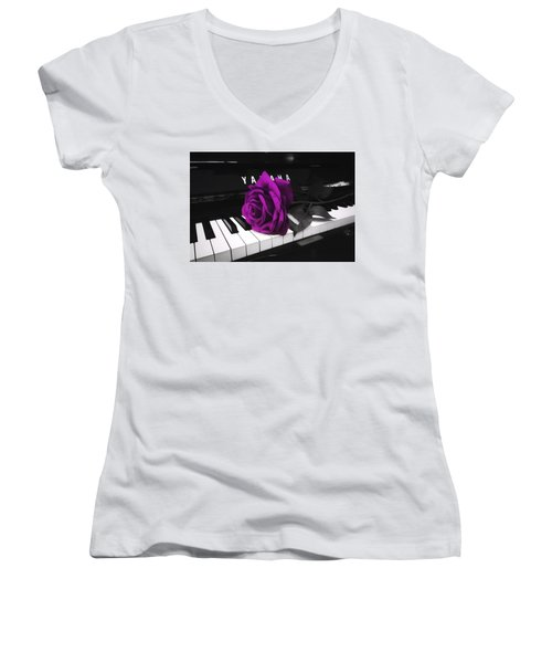 For A Friend Women's V-Neck (Athletic Fit)