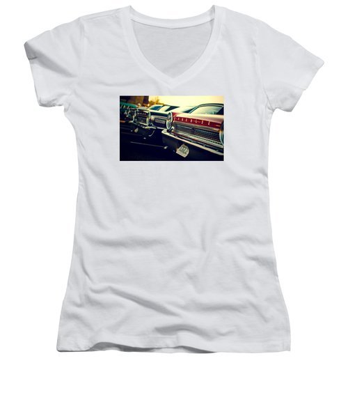 Ford Galaxie Women's V-Neck