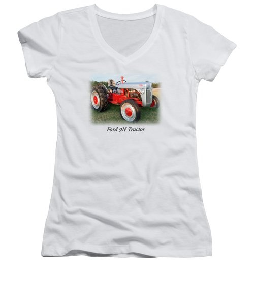 Ford  Tractor T Shirt  Women's V-Neck T-Shirt