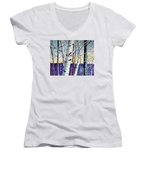Forest Of Trees Women's V-Neck T-Shirt