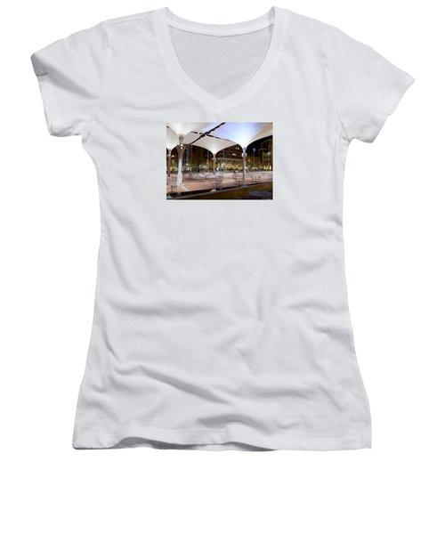 Fort Worth Sundance Square Women's V-Neck T-Shirt