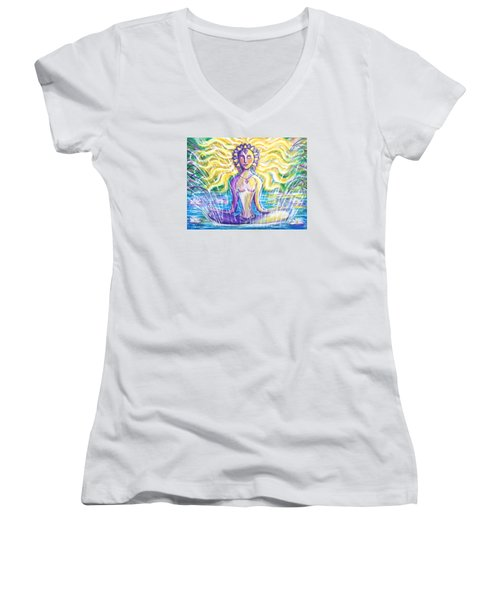 Fountain Of Youth Women's V-Neck T-Shirt