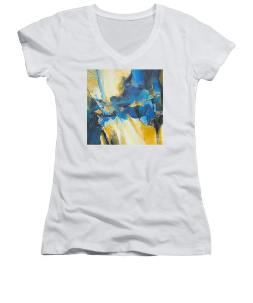 Fragments Of Time Women's V-Neck T-Shirt