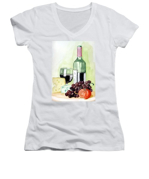 French Tradition Women's V-Neck T-Shirt