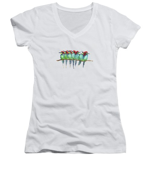 Friends To Lean On Women's V-Neck