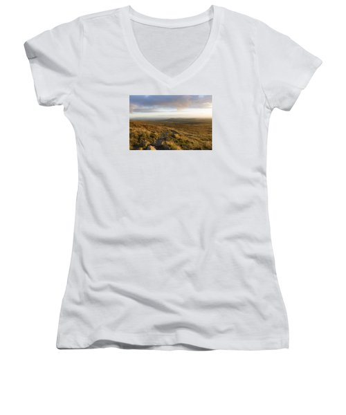 From The Black Mountain Women's V-Neck (Athletic Fit)