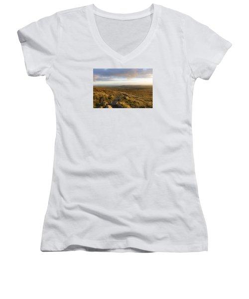 From The Black Mountain Women's V-Neck T-Shirt