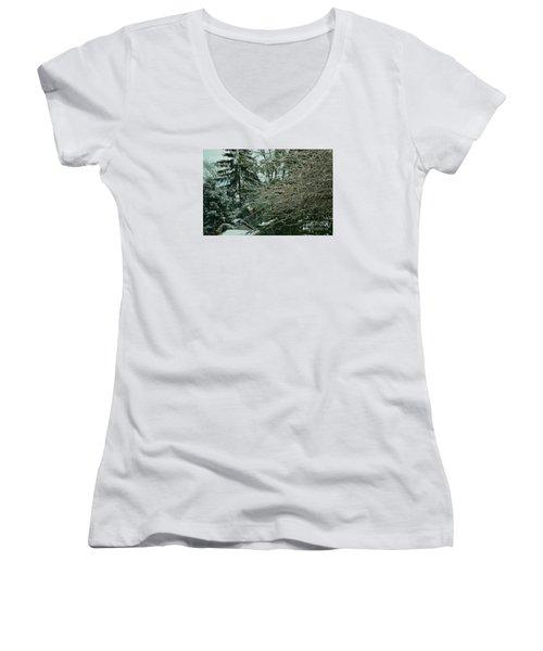 Frozen Women's V-Neck T-Shirt