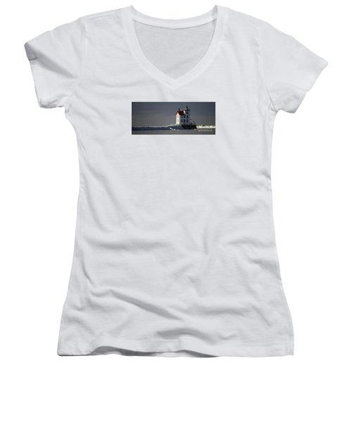 Frozen In Time Women's V-Neck T-Shirt