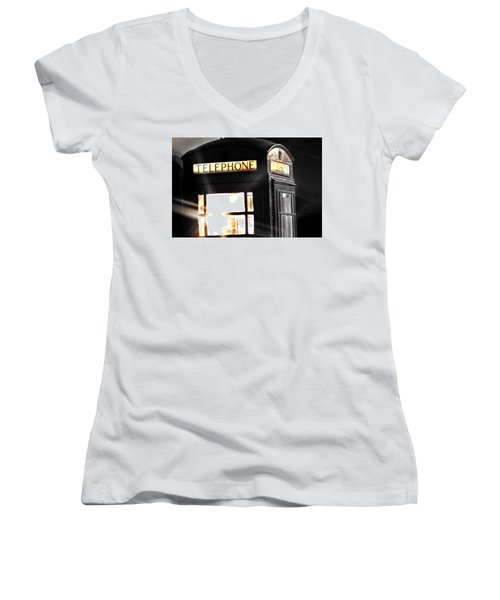 Fuzzy Thoughts Women's V-Neck