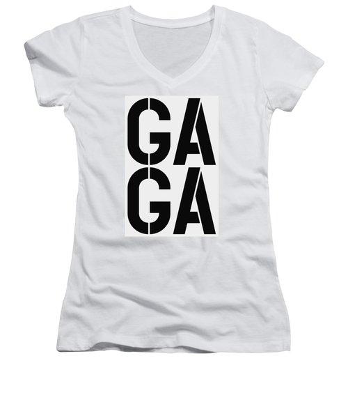 Gaga Women's V-Neck (Athletic Fit)