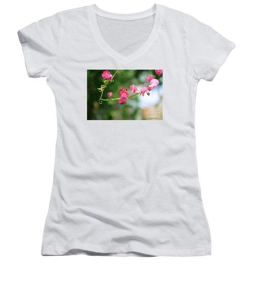Garden Bug Women's V-Neck