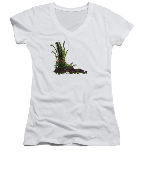 Garden Corner Women's V-Neck T-Shirt
