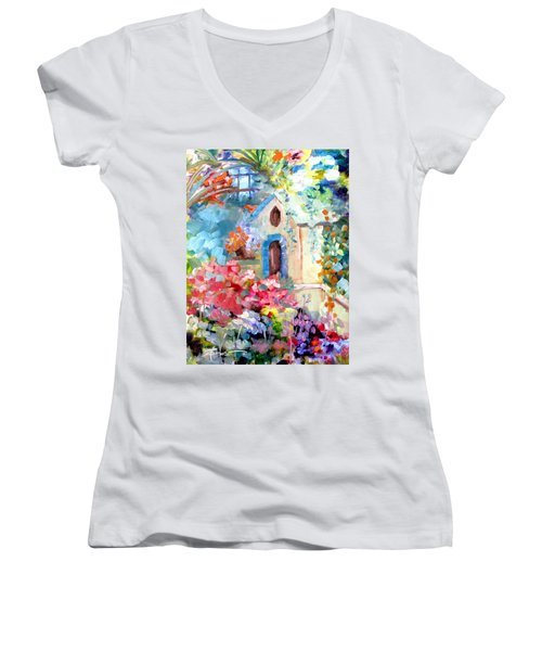 Garden Door  Women's V-Neck
