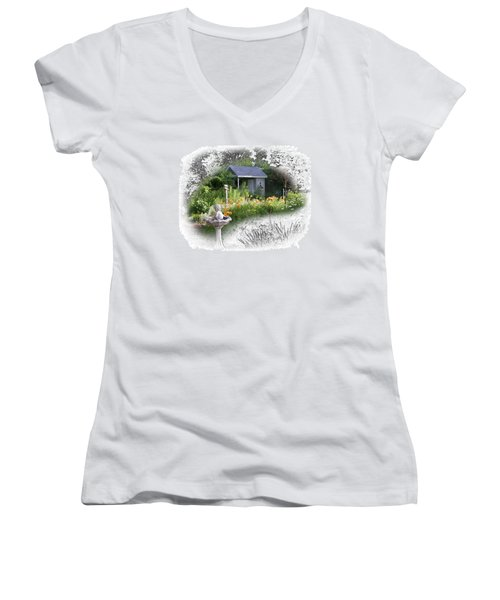 Garden House Women's V-Neck