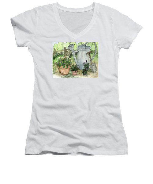 Garden Tools Women's V-Neck