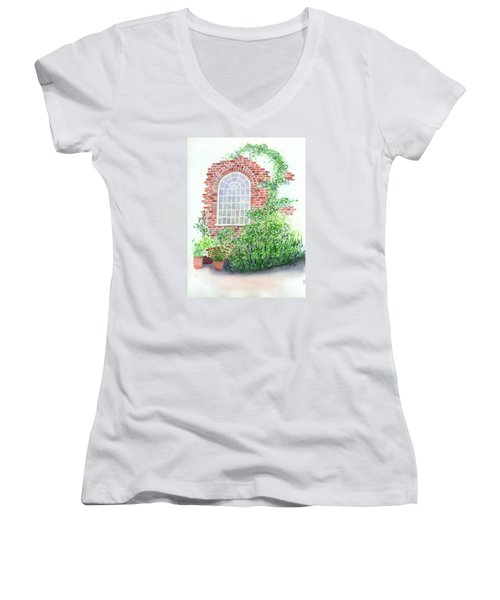 Garden Wall Women's V-Neck