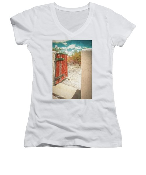 Gate To Oracle Women's V-Neck
