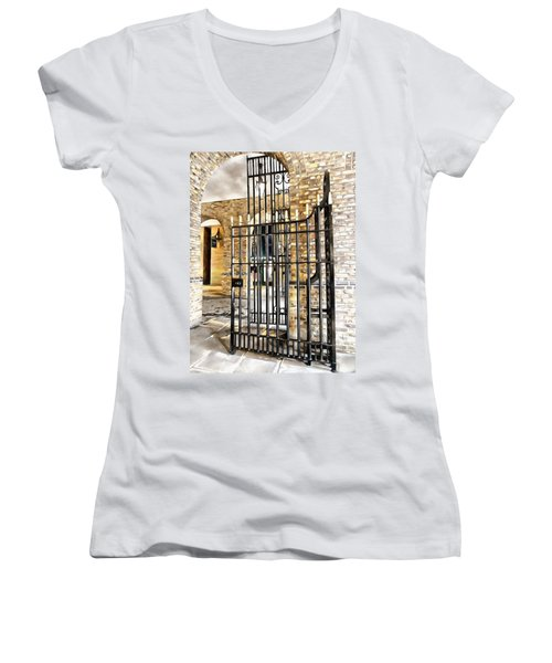 Gates At Hay's Galleria London Women's V-Neck (Athletic Fit)
