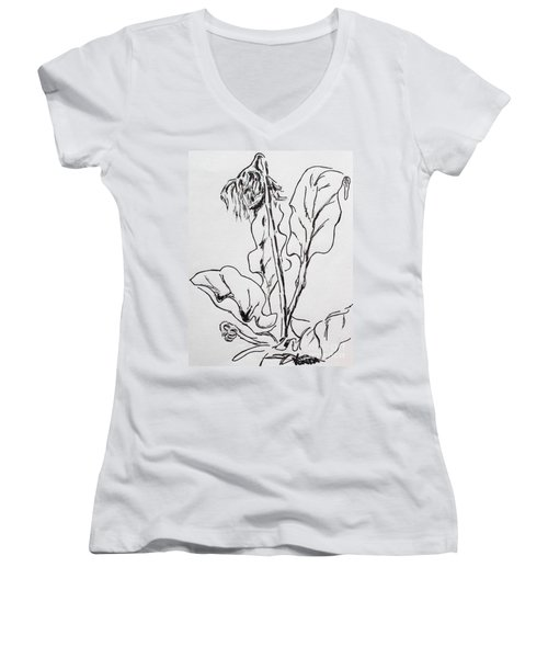 Gerber Study I Women's V-Neck T-Shirt