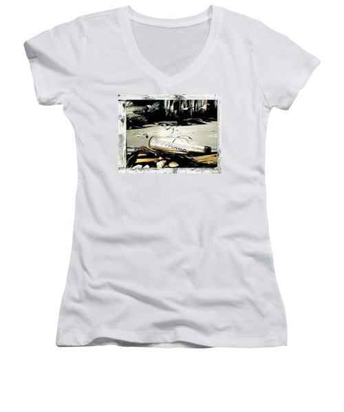 Get Naked  Women's V-Neck