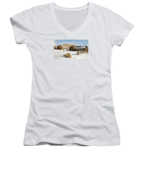 Ghost Town Winter Women's V-Neck