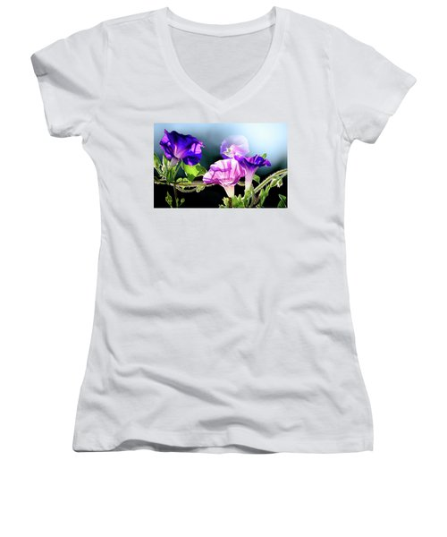 Gifts From My Garden Women's V-Neck (Athletic Fit)