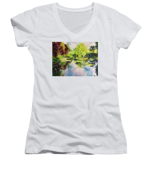 Giverney Women's V-Neck