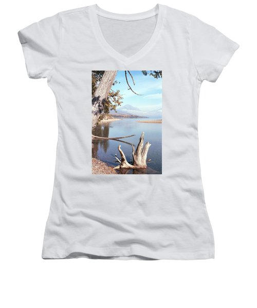 Glacier National Park 3 Women's V-Neck T-Shirt