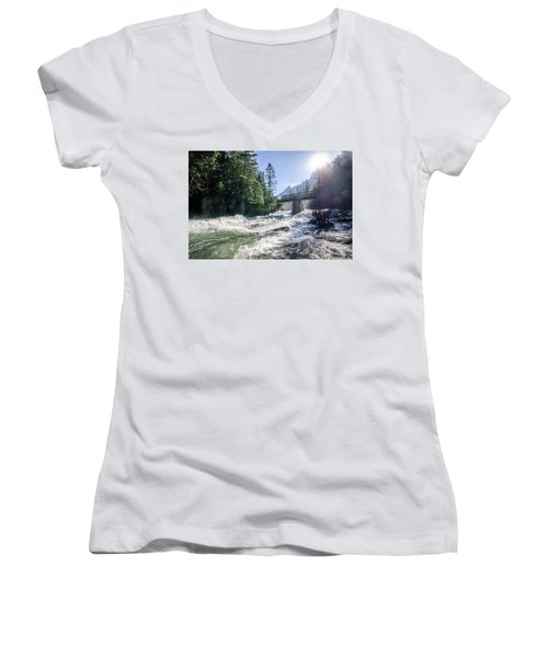 Glacier National Park Beauty Women's V-Neck