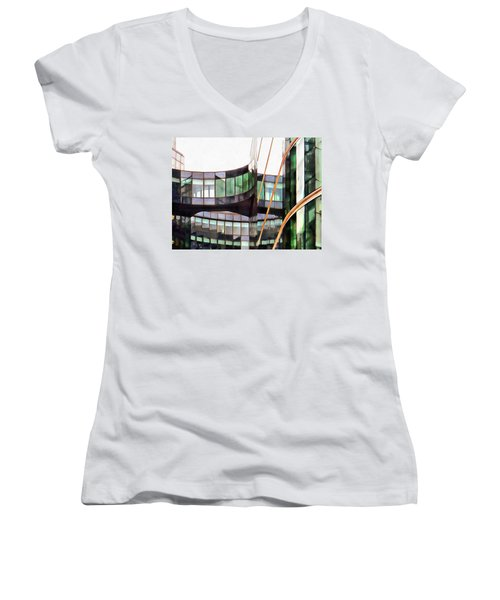 Glass Movement Women's V-Neck (Athletic Fit)