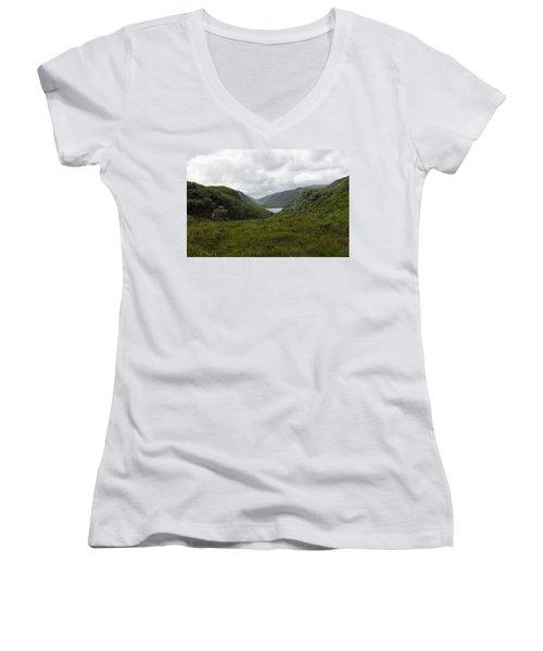 Glenveagh National Park Women's V-Neck