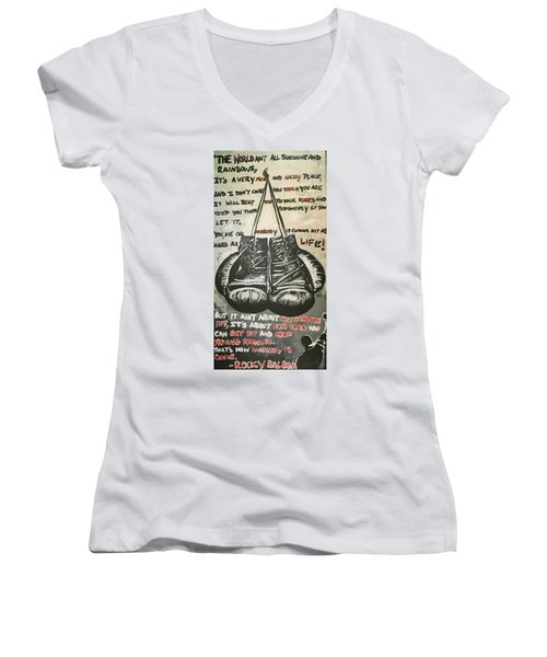 Gloves Of Life Women's V-Neck