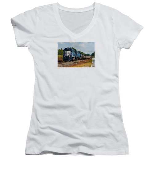 Gmtx On The Lc Women's V-Neck T-Shirt