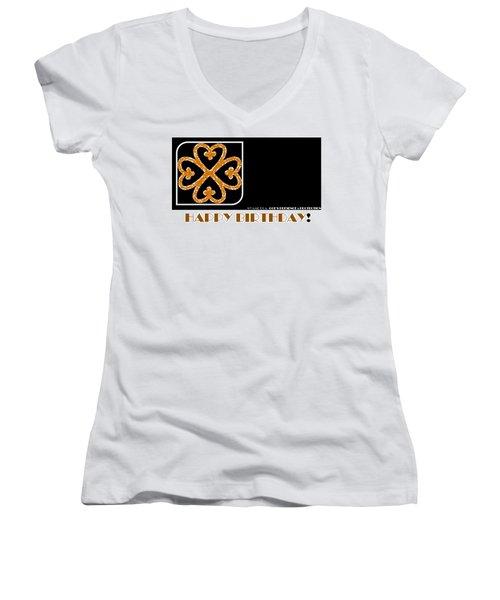 God's Protection Women's V-Neck T-Shirt (Junior Cut)