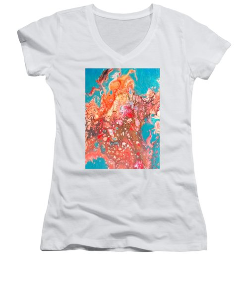 Waiting For Irma Women's V-Neck (Athletic Fit)