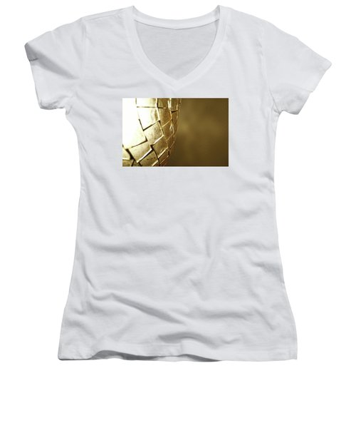 Women's V-Neck featuring the photograph Golden Light by Robert Knight