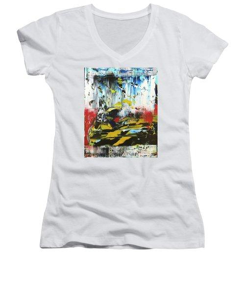 Golden Thoughts Women's V-Neck T-Shirt