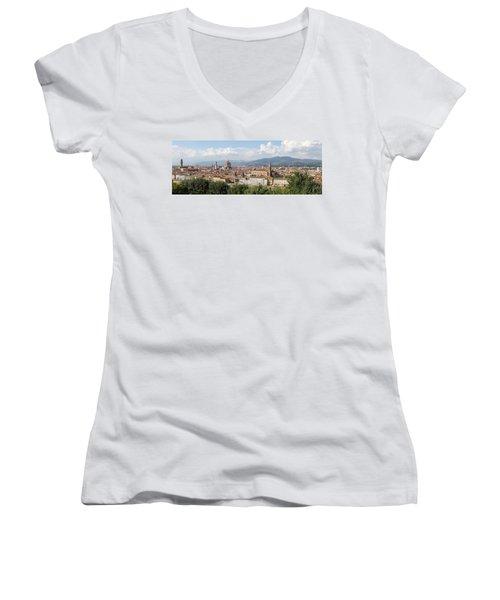 Goodbye To Florence Women's V-Neck T-Shirt