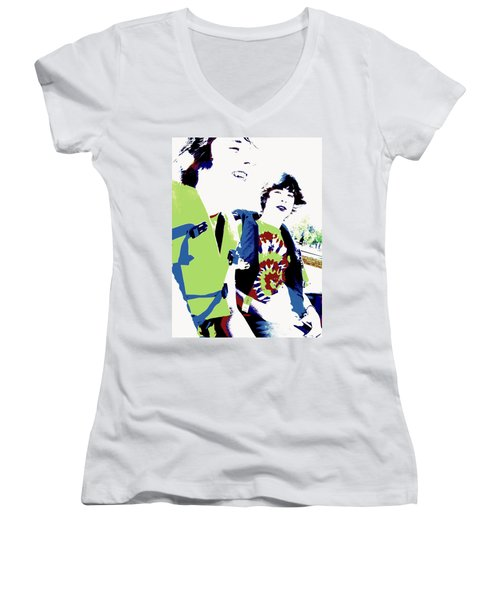 Good Friends Women's V-Neck T-Shirt