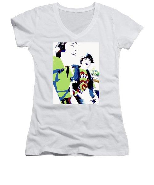 Good Friends Women's V-Neck T-Shirt