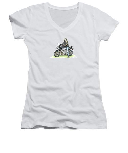 Got To Ride Women's V-Neck (Athletic Fit)