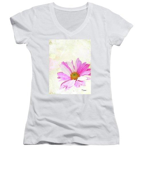 Grace 2 Women's V-Neck T-Shirt (Junior Cut)