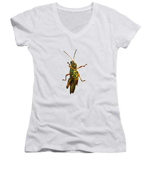 Grasshopper II Women's V-Neck T-Shirt