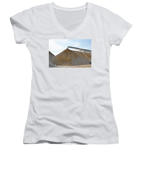 Gravel Mountain Women's V-Neck (Athletic Fit)